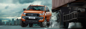 Ford-Ranger-forward-collission