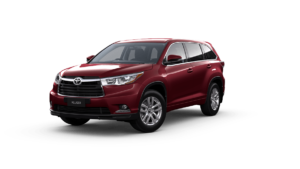 Kluger-AWD GX 3T0_Deep_Red front