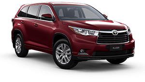 kluger awd gx deep red