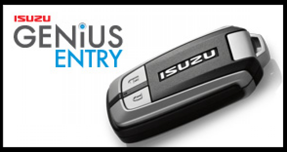 Smart Car Key Replacement >> ISUZU MU-X GENIUS ENTRY KEY REMOTE COVER BLACK SILICONE | eBay